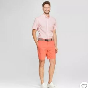 "Goodfellow 9"" Linden flat front chino men's shorts"